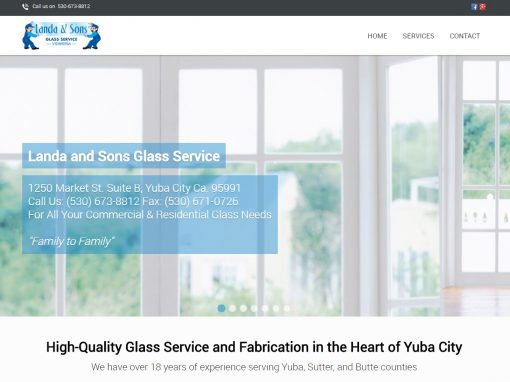 Landa and Sons Glass